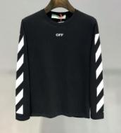 2色可選 長袖Tシャツ Off-White オフホワイト 春物1点限りVIP顧客セール 2019春夏の流行りの新品