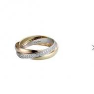 秋冬の手元を華やかに仕上げる限定品 カルティエ Cartier レディース リング おしゃれ コピー コーデ 最低価格 B4086000
