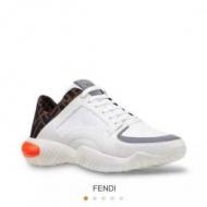 フェンディ FENDI スニーカー きちんと感あるコーデにぴったり メンズ コピー ロゴ ズッカ ブランド 限定セール 7E1237A7M7F16OI