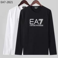 王道級2019秋冬新作発売 世界中のVIPが虜にする冬季爆買い アルマーニ ARMANI 長袖Tシャツ 2色可選