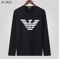 秋や冬先に活躍するアウター 2019年秋冬人気新作の速報 アルマーニ ARMANI 長袖Tシャツ 2色可選