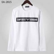 大満足の2019秋冬新作 アルマーニ ARMANI 長袖Tシャツ 2色可選 秋の装いをフレッシュに彩ってくれる予感