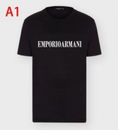 アルマーニ Tシャツ 通販 軽快にトレンド感をアップ パーカー ARMANI メンズ スーパーコピー ブラック ロゴ入り おしゃれ セール